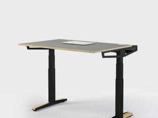 HV-Tisch Pool22.Design ArbeitszimmerSchreibtische Metall Schwarz