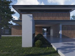 Проект современного дома с плоской крышей   Way-project Way-Project Architecture & Design Дома в стиле минимализм