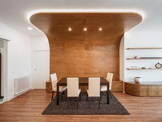 OOIIO Arquitectura Їдальня Інженерне дерево Дерев'яні
