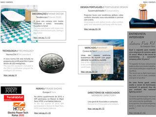 PORTUGUESE LIGHTING NETWORK MAGAZINE – Issue 12 LUZZA by AIPI - Portuguese Lighting Association CasaAcessórios e Decoração