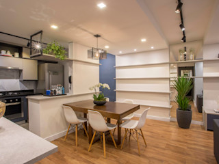Ju Miranda Arquitetura Salle à manger moderne