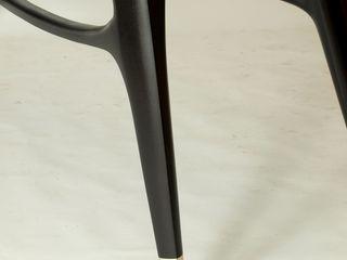 Esstisch aus Eiche, schwarz gebeizt und lackiert Holzarbeiten André Findeisen Moderne Esszimmer Massivholz Schwarz