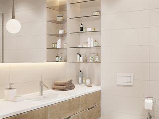 Shmidt Studio Ванная комната в стиле модерн