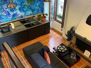 Casa vacanze mansardata 160 MQ Dr-Z Architects Soggiorno moderno