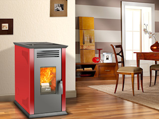 AMESTI HouseholdHomewares Iron/Steel Red
