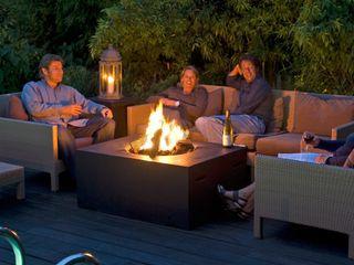 Dim-ora Caminetti su misura a gas, elettrici e a bioetanolo Garden Fire pits & barbecues