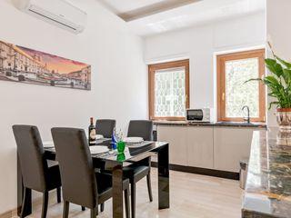 Casa vacanze Flora - 60 MQ Dr-Z Architects Cucina attrezzata Marmo Ambra/Oro
