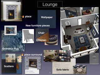 CS DESIGN Ruang Keluarga Klasik