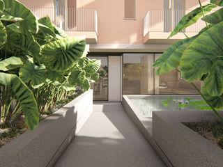 ALESSIO LO BELLO ARCHITETTO a Palermo Cliniques modernes Béton