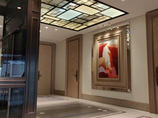 Plafond ON/ME light ON-ME Dressing minimaliste Fer / Acier Blanc