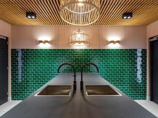 Aangenaam Interieuradvies Modern office buildings Green