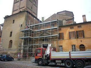 Restauro della copertura del transetto del Duomo di Mantova Studio di Architettura IATTONI