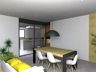 AMENAGEMENT D'UNE MAISON Lionel CERTIER - Architecture d'intérieur Cuisine intégrée