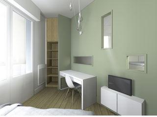 RENOVATION D'UNE CHAMBRE D'ENFANTS Lionel CERTIER - Architecture d'intérieur Chambre moderne