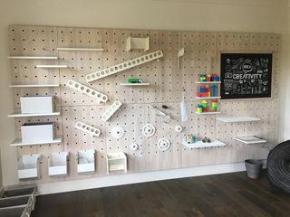 Adaptiv DC 子供部屋収納 木 白色
