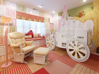 Adaptiv DC 赤ちゃん部屋 木 白色