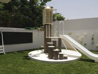 Adaptiv DC モダンデザインの 子供部屋 金属 白色