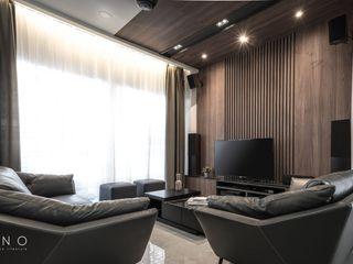 Residential Element Garden Legno ID & Construction Living room