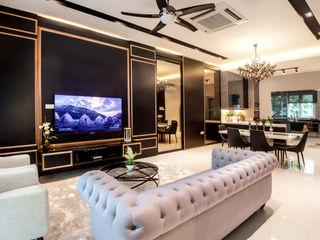 Residential Permai Garden Legno ID & Construction Living room