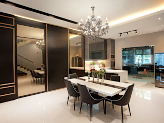 Residential Permai Garden Legno ID & Construction Classic style dining room