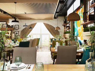Компания архитекторов Латышевых 'Мечты сбываются' Eclectic style dining room
