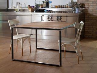 Doopy Design КухняСтоли та стільці Залізо / сталь Чорний