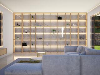 Escala Absoluta 现代客厅設計點子、靈感 & 圖片