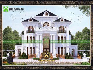 Thiết kế dinh thự đẹp CÔNG TY CP THIẾT KẾ KIẾN TẠO NHÀ MỚI