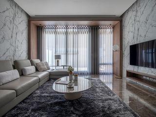 勻境設計 Unispace Designs Modern Living Room