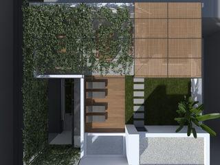 ALESSIO LO BELLO ARCHITETTO a Palermo Balcon, Veranda & Terrasse modernes