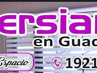Persianas en Guadalajara Gdl Cửa chớp White