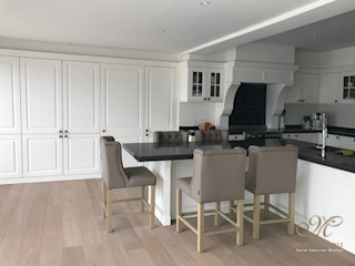 Marcotte Style Built-in kitchens Wood White
