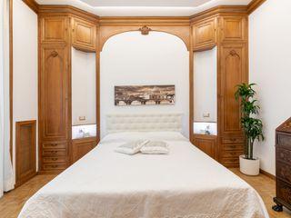 Casa vacanze Vesta - 50 MQ Dr-Z Architects Camera da letto eclettica Legno Bianco
