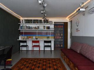 Portal do Envelhecimento Enzo Sobocinski Arquitetura & Interiores Escritórios ecléticos Ferro/Aço Multi colorido