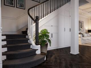 Neo Classic Interior Design Stairs