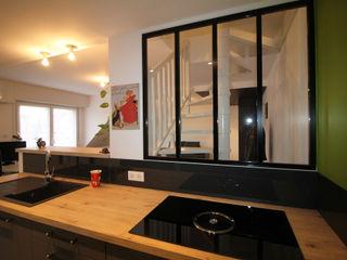 Agence ADI-HOME Dapur Modern Aluminium/Seng Black