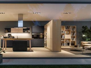 Charmante Wohnküche von next125 Spitzhüttl Home Company Einbauküche