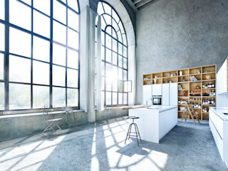 Erstklassige Inselküche von next125 Spitzhüttl Home Company Einbauküche Weiß