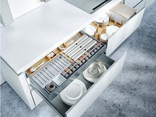 Erstklassige Inselküche von next125 Spitzhüttl Home Company KücheBesteck, Geschirr und Gläser