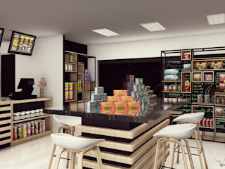 Café Deli Bodegon Vida Arquitectura Tiendas y espacios comerciales Corcho Marrón