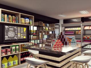 Café Deli Bodegon Vida Arquitectura Tiendas y espacios comerciales Madera Acabado en madera