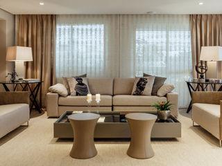 Apartamento de Santo Inácio - Extreme makeover RUTE STEDILE INTERIORES Salas de estar modernas