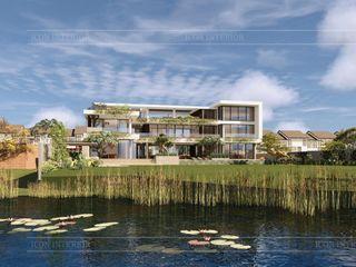 Không thể rời mắt thiết kế nội thất biệt thự Phúc An City Thiết kế nội thất ICONINTERIOR Hồ bơi phong cách hiện đại