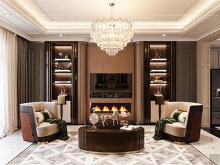 Sức hút mãnh liệt trong từng chi tiết nội thất biệt thự Lavilla Thiết kế nội thất ICONINTERIOR Phòng khách
