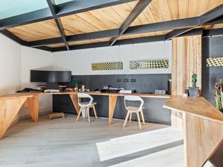 Dr-Z Architects Estudios y oficinas industriales