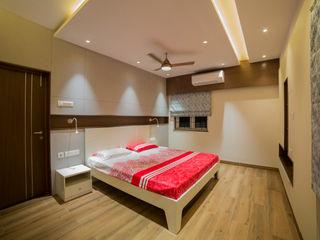 Offcentered Architects モダンスタイルの寝室