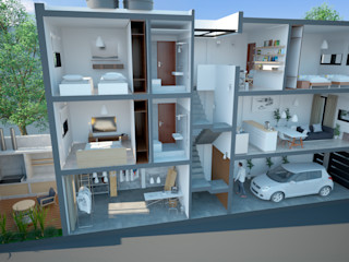 D4-Arquitectos Casas pequeñas