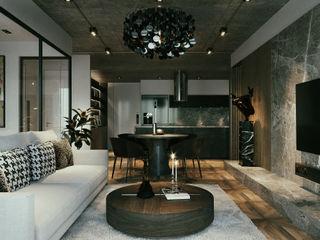 RIKATA DESIGN Modern Living Room