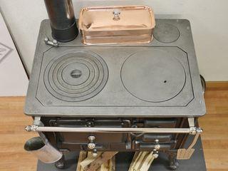 Perler Ofen GmbH Вбудовані кухні Метал Чорний