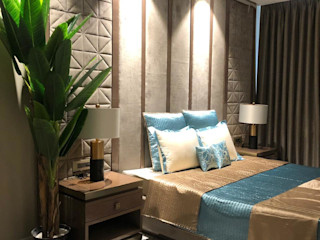 Adhvik Decor BedroomTextiles Textile Blue